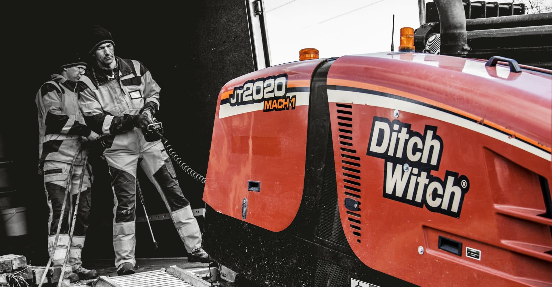Styrd borrning - Ditch Witch JT20